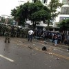 Protest in Sichuan over pollution, armed police attacked protestors